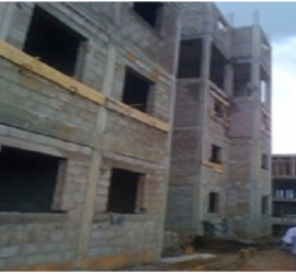 Olembé Construction site: Social Housing Project MINDUH